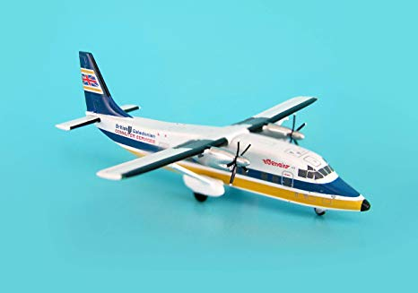 British Caledonian Shorts 360 ~G-Bkkt (1:400) by JC Wings Diecast Airliners Item: JC4BCA120