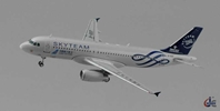 "China Southern A320 ""Skyteam"" B-1697 (1:400) by JC Wings Diecast Airliners Item: JC4CSN230"