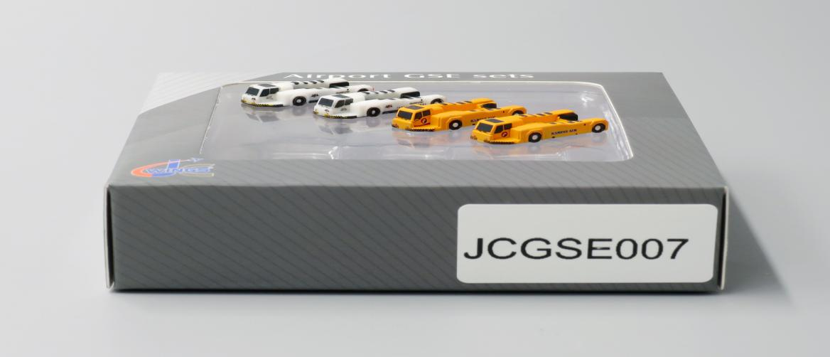 Push Back Tug 4 PACK, 2 Korean, 2 JAL (1:400), JC Wings Diecast Airliners Item Number JC4GSE007