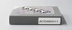 Push Back Tug 4 PACK, 2 Swissport, 2 BGS (1:400) by JC Wings Diecast Airliners Item: JC4GSE011