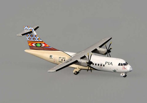 "PIA ATR 42-500 ""The City Of Flowers"" ~AP-BHI (1:400), JC Wings Diecast Airliners, JC4PIA161"