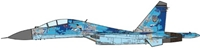 SU-27UB Flanker-C Ukrainian Air Force, 2016 (1:72) , JC Wings Millitary, Item Number JCW-72-SU27-006