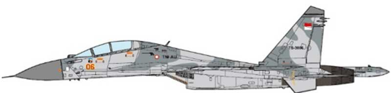 SU-30LL Flanker Gromov Flight Research Institute, 2006 (1:72), JC Wings Millitary, Item Number JCW-72-SU30-006