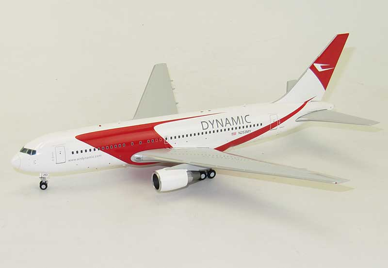Dynamic B767-200 N253MY (1:200) - Special Clearance Pricing by JC Wings Diecast Airliners Item: LH2020