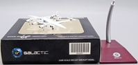 Virgin Galactic White Night Two with Spaceship Two N348MS (1:400 Scale), JC Wings Diecast Airliners, Item Number VG4VGX001