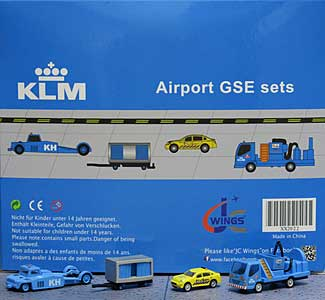 KLM GSE Set 2 (1:200) - Special Clearance Pricing by JC Wings Diecast Airliners Item: XX2022