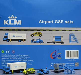 KLM GSE Set 4 (1:200) - Special Clearance Pricing by JC Wings Diecast Airliners Item: XX2024