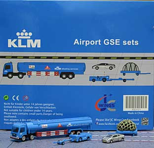 KLM GSE Set 5 (1:200) - Special Clearance Pricing by JC Wings Diecast Airliners Item: XX2025