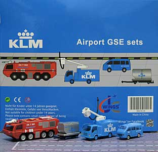 KLM GSE Set 6 (1:200) - Special Clearance Pricing
