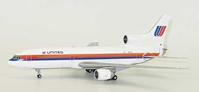"United Airlines ""Saul Bass Rainbow Livery"" L-1011-500 Hl7578 (1:200) - Special Clearance Pricing, JC Wings Diecast Airliners, XX2061"