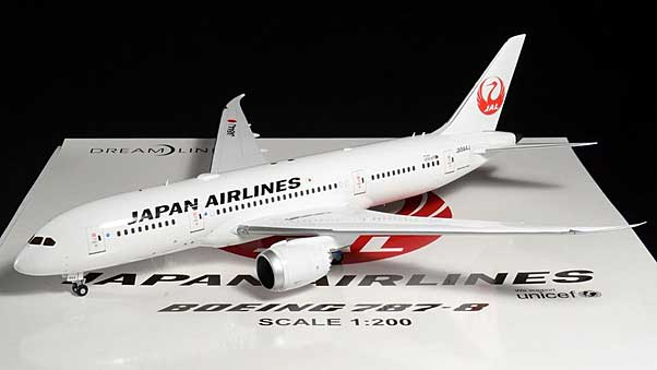 JAL B787-8 JA844J (1:200) - Special Clearance Pricing