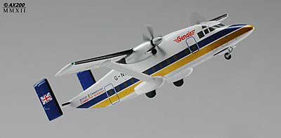 British Caledonian Short 330 G-NICE (1:200) - Special Clearance Pricing by JC Wings Diecast Airliners Item: XX2537