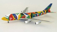 "South African Airlines ""Ndizani"" B747-300 ZS-SAJ (1:200) - Special Clearance Pricing by JC Wings Diecast Airliners Item: XX2808"