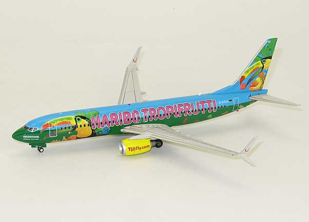 "TUIFly B737-800(S) ""Tropifrutti"" D-ATUJ(1:200) by JC Wings Diecast Airliners Item: JCXX2946"