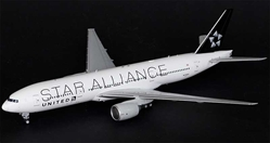 "United ""Star Alliance"" B777-200ER N77022 (1:200) - Special Clearance Pricing by JC Wings Diecast Airliners Item: XX2966"