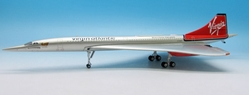 "Virgin Atlantic Concorde F-FAST ""Mines Faster Than Yours"" (1:200), JFox Model Airliners Item Number JFI-CONC-005"