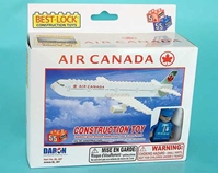 Air Canada 55 Piece Construction Toy, Best Lock Item Number BL287
