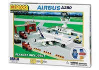 Airbus A380 330 Piece Construction Playset