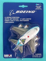 Boeing Pullback W/ Lights & Sound, Toytech Item Number TT744