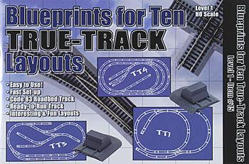 15 Blueprints for 10 True-Track Layouts (HO), Atlas Ho Model Trains Item Number ATL15