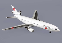 Japan Asia DC-10-40 90s Livery JA8532 (1:200), Blue Box Airplane Models Item Number BBOXJAA004