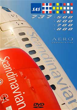 Scandinavian Airlines Cockpit DVD, AeroPresentation cockpit DVDs Item Number APSAS1