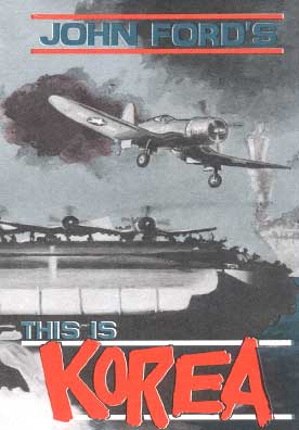 John Fords: This is Korea, Non-Fiction Video Aviation DVDs Item Number DV517