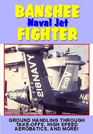 Banshee Fighter Naval Jet, Non-Fiction Video Aviation DVDs Item Number DV522