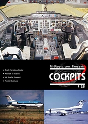 PB Air Fokker F 28-4000 (DVD), Air Utopia Aviation DVDs Item Number AUT06