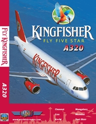 Kingfisher A320 (DVD), Just Planes Aviation DVDs Item Number JPKFR1