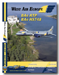 West Air Sweden ATP & Hs748 (DVD), Just Planes Aviation DVDs Item Number JPSWN1