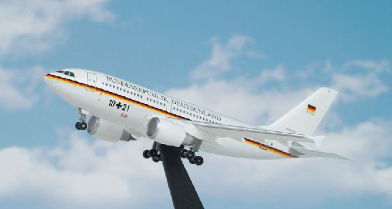 German Air Force A310 (1:400), DragonWings 400 Diecast Airliners Item Number DRW55616