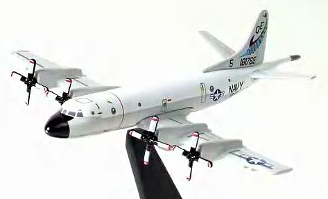 "P-3C Orion U.S. Navy ""Fighting Marlins"" VP-40 (1:400), DragonWings 400 Diecast Airliners Item Number DRW55674"