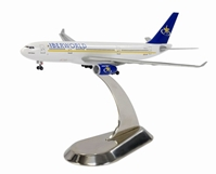 Iberworld Airlines A330-200 (1:400) W/ Metal Stand, DragonWings 400 Diecast Airliners Item Number DRW56073