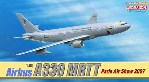 Airbus A330 MRTT (Multi-Role Tanker Transport), Paris Air Show 2007 (1:400), DragonWings 400 Diecast Airliners Item Number DRW56268