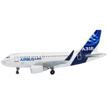Airbus A318 with Sharklets (Sharklet Special Livery), Corporate Model (1:400), DragonWings 400 Diecast Airliners Item Number DRW56417