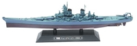 USN battleship USS New Jersey (BB-62) - 1944 (1:1000)