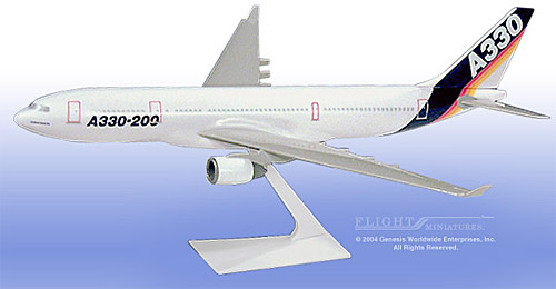 Airbus House Colors A330-200 (1:200), Flight Miniatures Snap-Fit Airliners Item Number AB-33020H-005