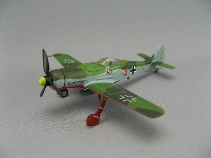 Focke-Wulf Fw 190D-9 JV44 (1:144), F-Toys from Japan Item Number FTC375