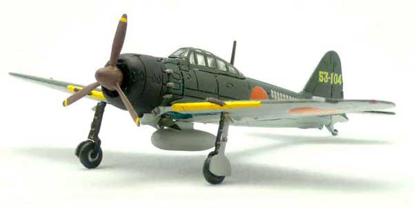 Mitsubishi A6M5 Zero Type 52 253rd Kokutai (1:144), F-Toys from Japan Item Number FTC383
