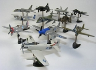 "Air Museum American Fighter set by Furuta Mini - 11 Airplanes per set (each plane is about 3"" long), Furuta Mini Item Number FRT7011"