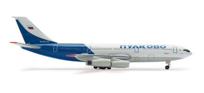 Pulkovo IL-86 (1:500), Herpa 1:500 Scale Diecast Airliners Item Number HE506182
