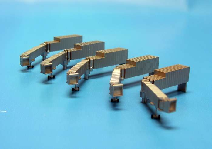 Jetways - 5 pack (1:500), Herpa 1:500 Scale Diecast Airliners Item Number HE519694