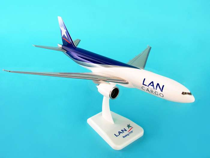 LAN Cargo 777-200F W/Gear (1:200), Hogan Wings Collectible Airliner Models Item Number HG2506G