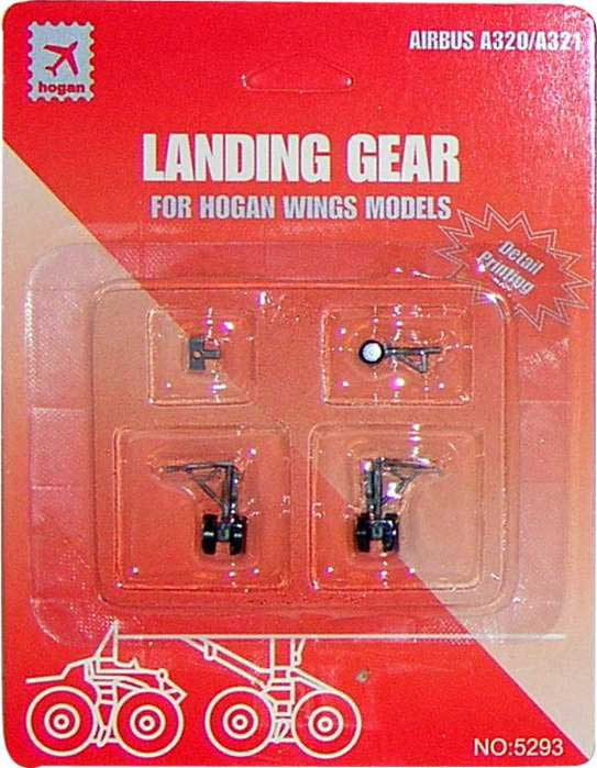 Landing Gear for Hogan A300 (1:200), Hogan Wings Collectible Airliner Models Item Number HG5347