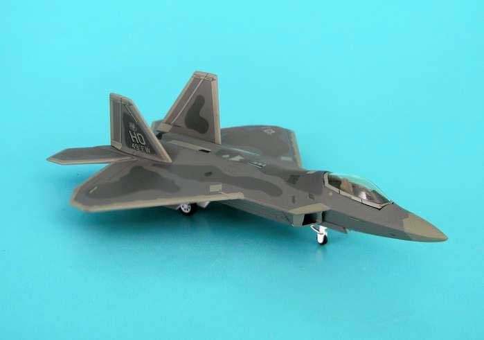 F-22A USAF 49TH Fw Holloman Afb Nv Tail Ho (1:200), Hogan Wings Collectible Airliner Models Item Number HG6856