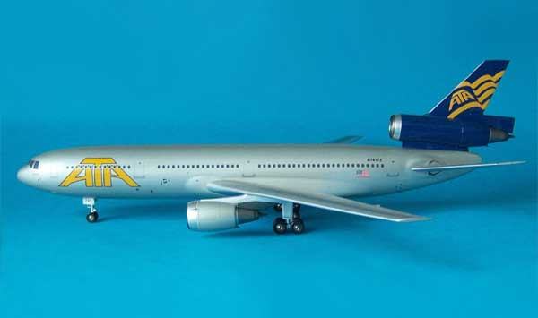 ATA DC-10-30 Freedom Bird (1:200), InFlight 200 Scale Diecast Airliners Item Number IF103015