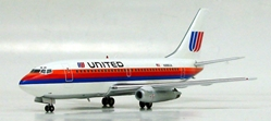 United Airlines 737-200 Saul Bass Colors -N988UA (1:200), InFlight 200 Scale Diecast Airliners Item Number IF7320711