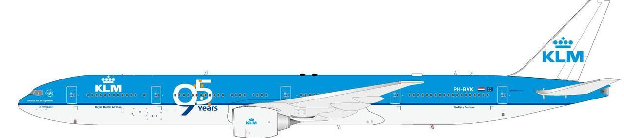 "KLM 777-306/ER ""95th Anniversary""  PH-BVK, InFlight 200 Scale Diecast Airliners Item Number IF77730515"