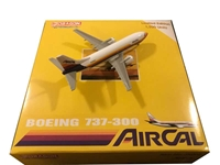 Air Cal 737-300 N306AC (1:400), Jet X 1:400 Diecast Airliners, Item Number JET005